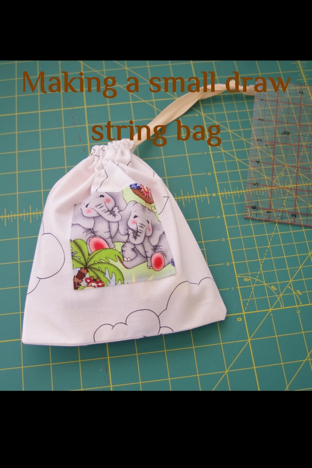 fabric bag, small bag