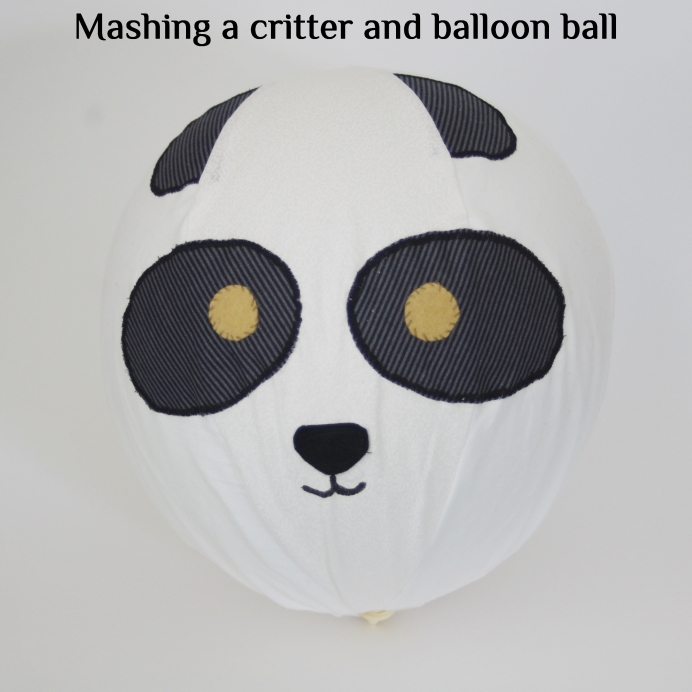 swoodson says roly poly critter ball, balloon ball