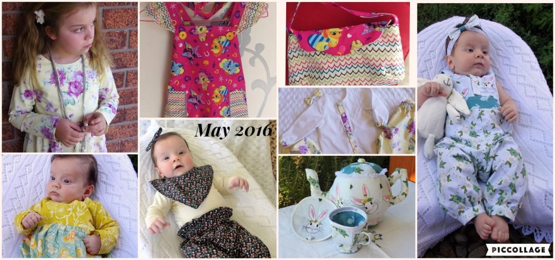 tadah, tea party, long sleeve, romper, dress, pinny, pattern emporium, flosstyle, tea set, bag, bib, baby clothes