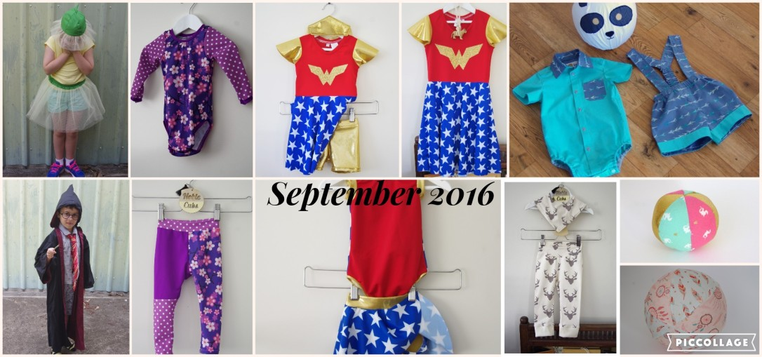 book week, costume, blossom baby, harry potter, sun suit, leggings, flosstyle, Boo! designs, spandex, wonder woman, skater dress, cheekies, leggings, bib, troop romper, tadah, critter ball, balloon, ball, mini ball, sprouts, stumpies