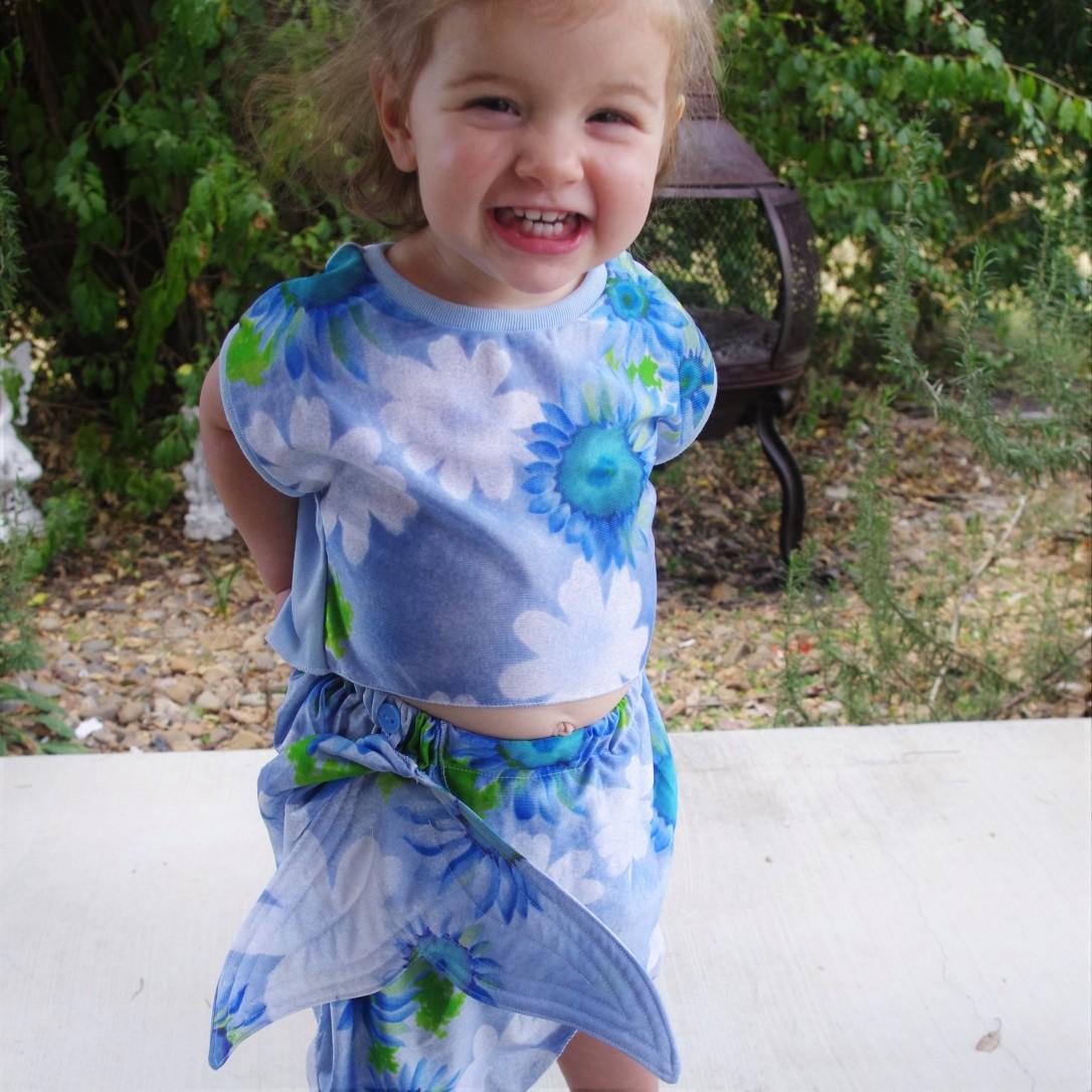 mermaid tail, one thimble, tadah patterns, pattern hack, mermaid, toddler
